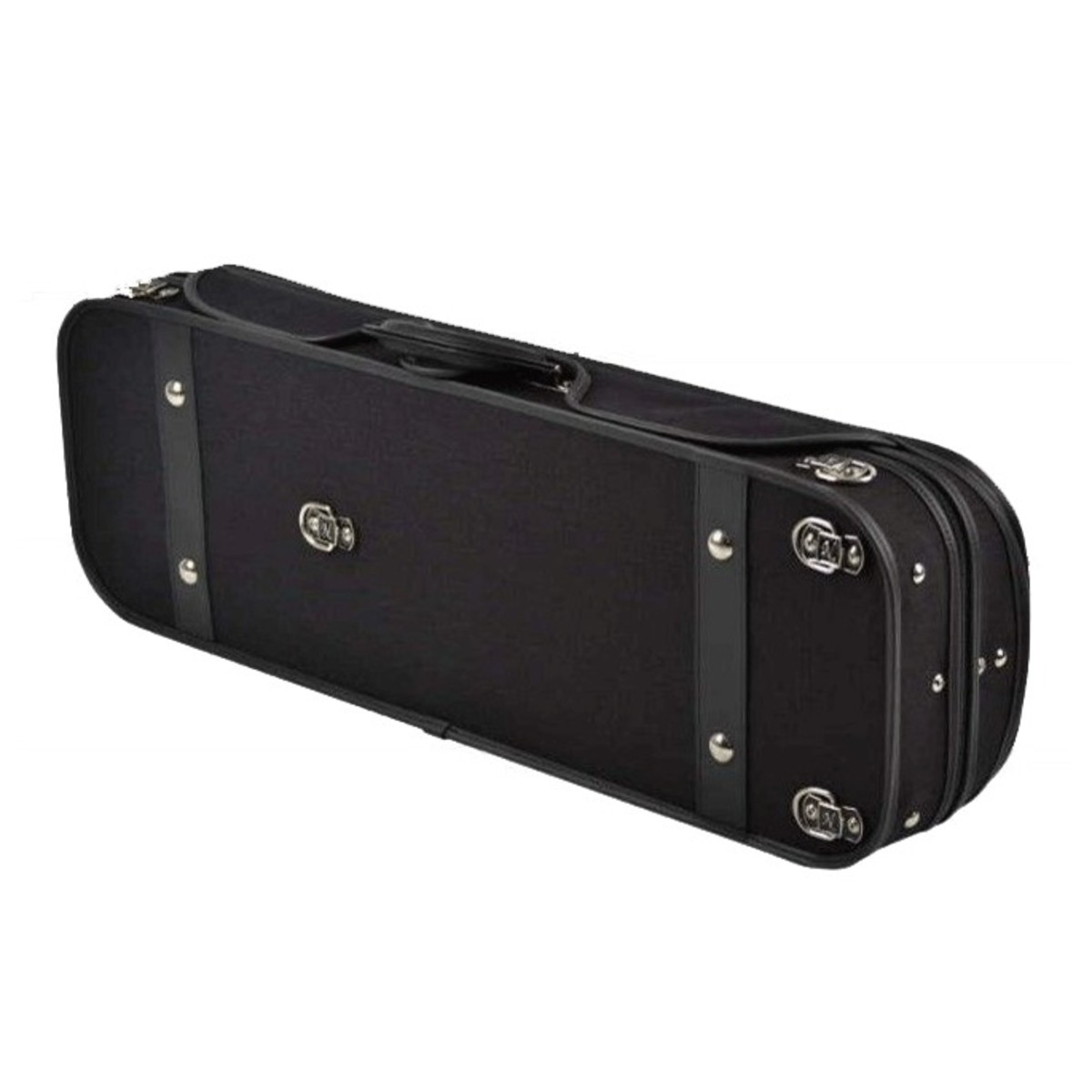 Negri milano violin case in black and burgundy at for Case a milano