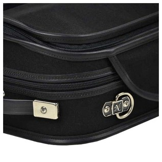 Negri Milano Violin Case in Black and Green