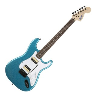 Squier by Fender FSR Affinity Stratocaster HH, Candy Blue Sparkle