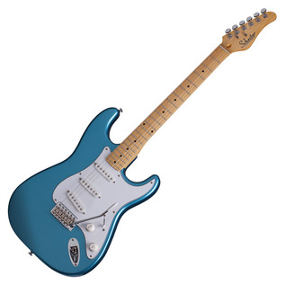 Schecter Traditional Standard Electric Guitar, Lake Placid Blue