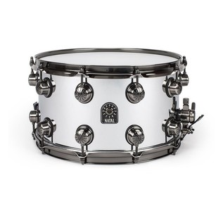 Natal Steel 14x6.5 Snare Drum w/ Brushed Nickel Hardware