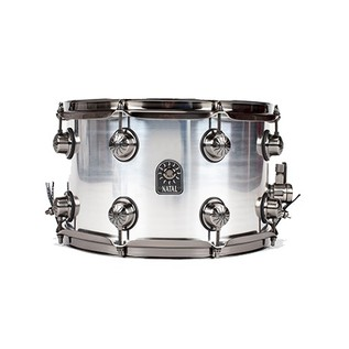 Natal Aluminium 14x6.5 Snare Drum w/ Brushed Nickel Hardware