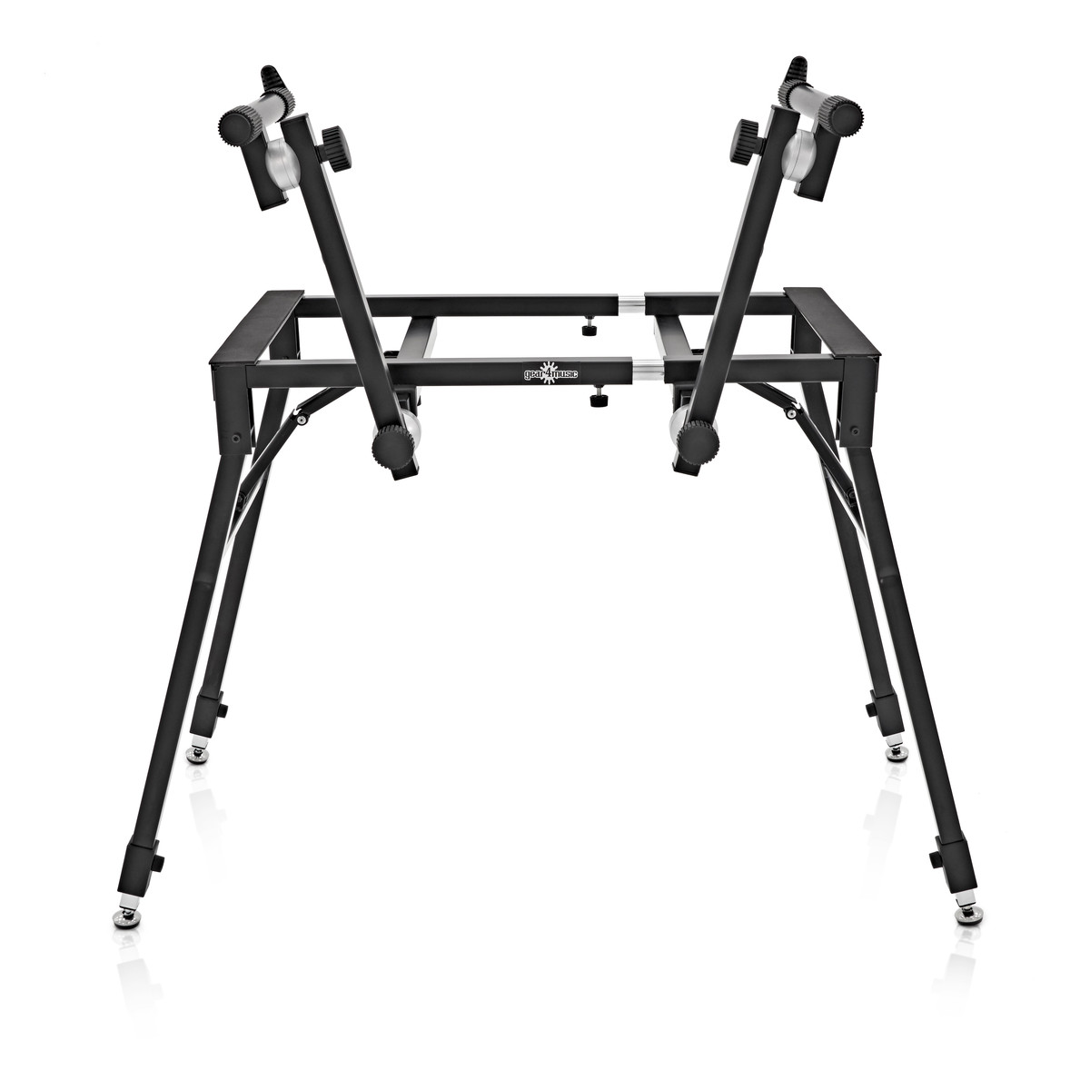 Keyboard Stand Designs : Deluxe tier keyboard stand by gear music b stock at