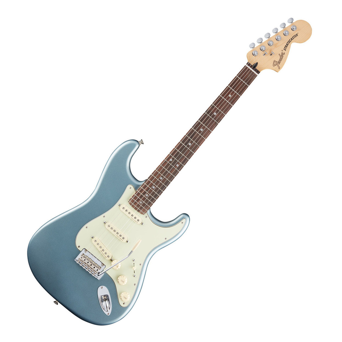 fender deluxe roadhouse stratocaster electric guitar mystic ice blue at. Black Bedroom Furniture Sets. Home Design Ideas