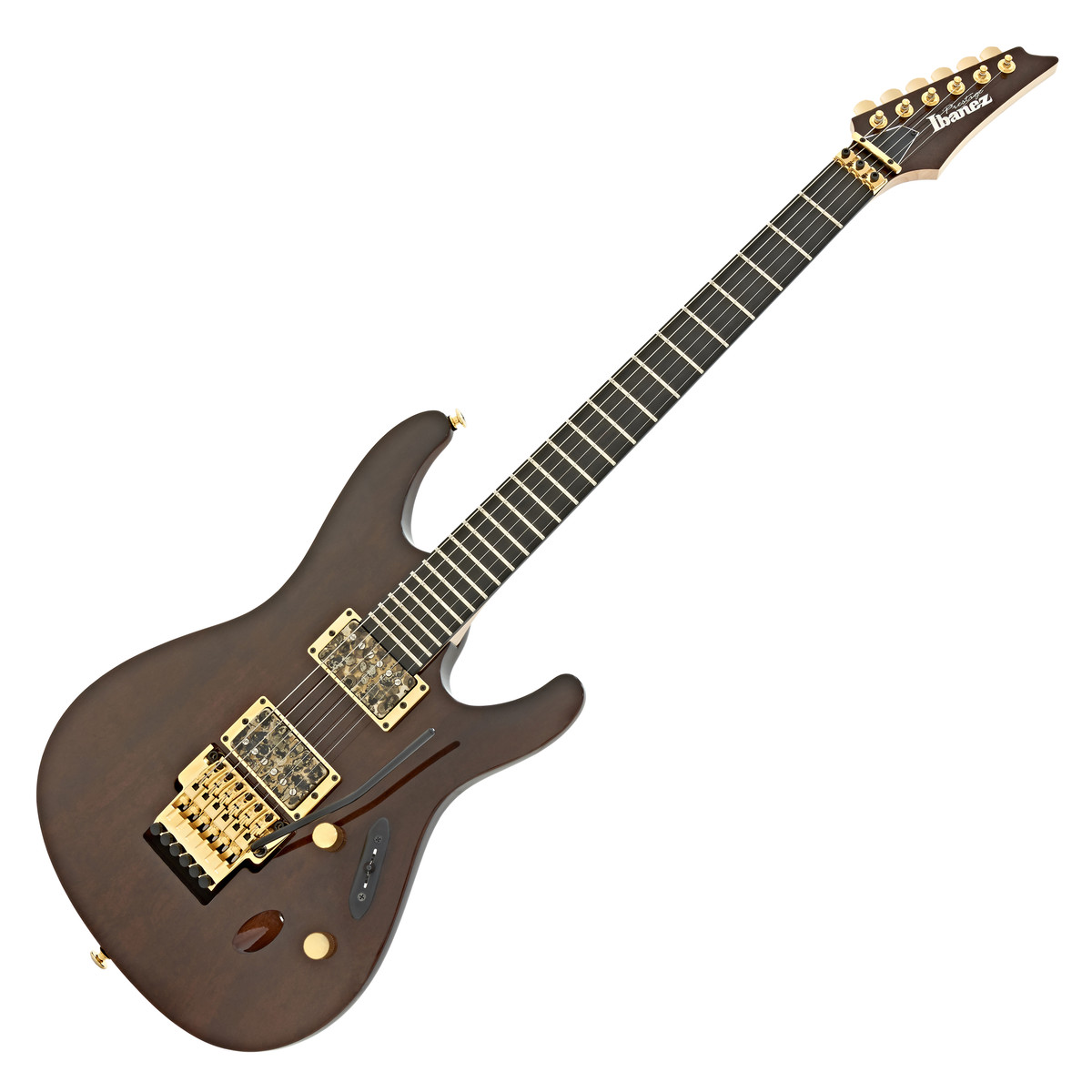 ibanez s6uc 39 uppercut 39 prestige electric guitar dark mocha at. Black Bedroom Furniture Sets. Home Design Ideas