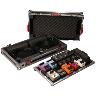 Gator Tour Case For Large Pedal Boards With Wheels