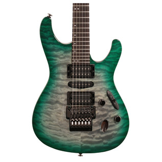 Ibanez S5570Q-DGD Close