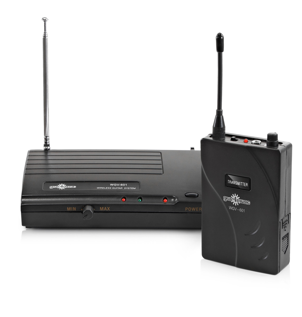 wireless guitar system by gear4music 174 1mhz box opened at. Black Bedroom Furniture Sets. Home Design Ideas