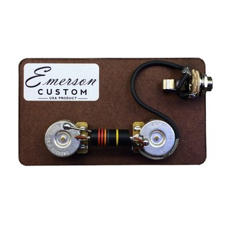 Emerson Custom Junior Single Cut Guitar Prewired Kit, 500k