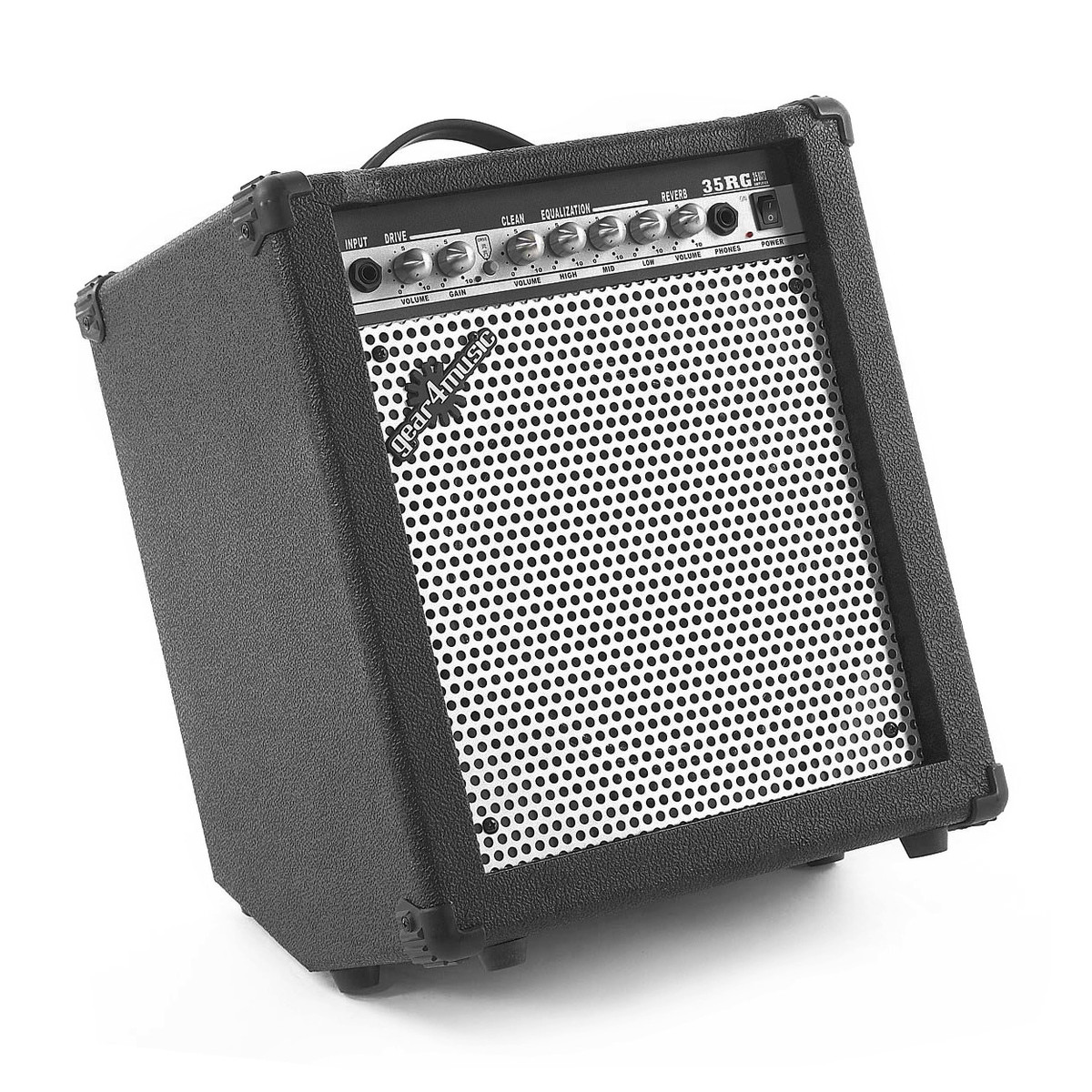 35w electric guitar amp with reverb by gear4music box opened at. Black Bedroom Furniture Sets. Home Design Ideas