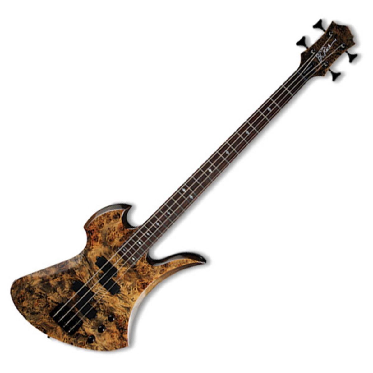 bc rich mockingbird plus bass guitar ghost black b stock at. Black Bedroom Furniture Sets. Home Design Ideas