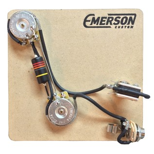 Emerson Custom 2-Knob PRS 3-Way Prewired Kit, 500k