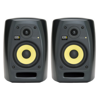 KRK VXT6 Active Studio Monitors, Pair