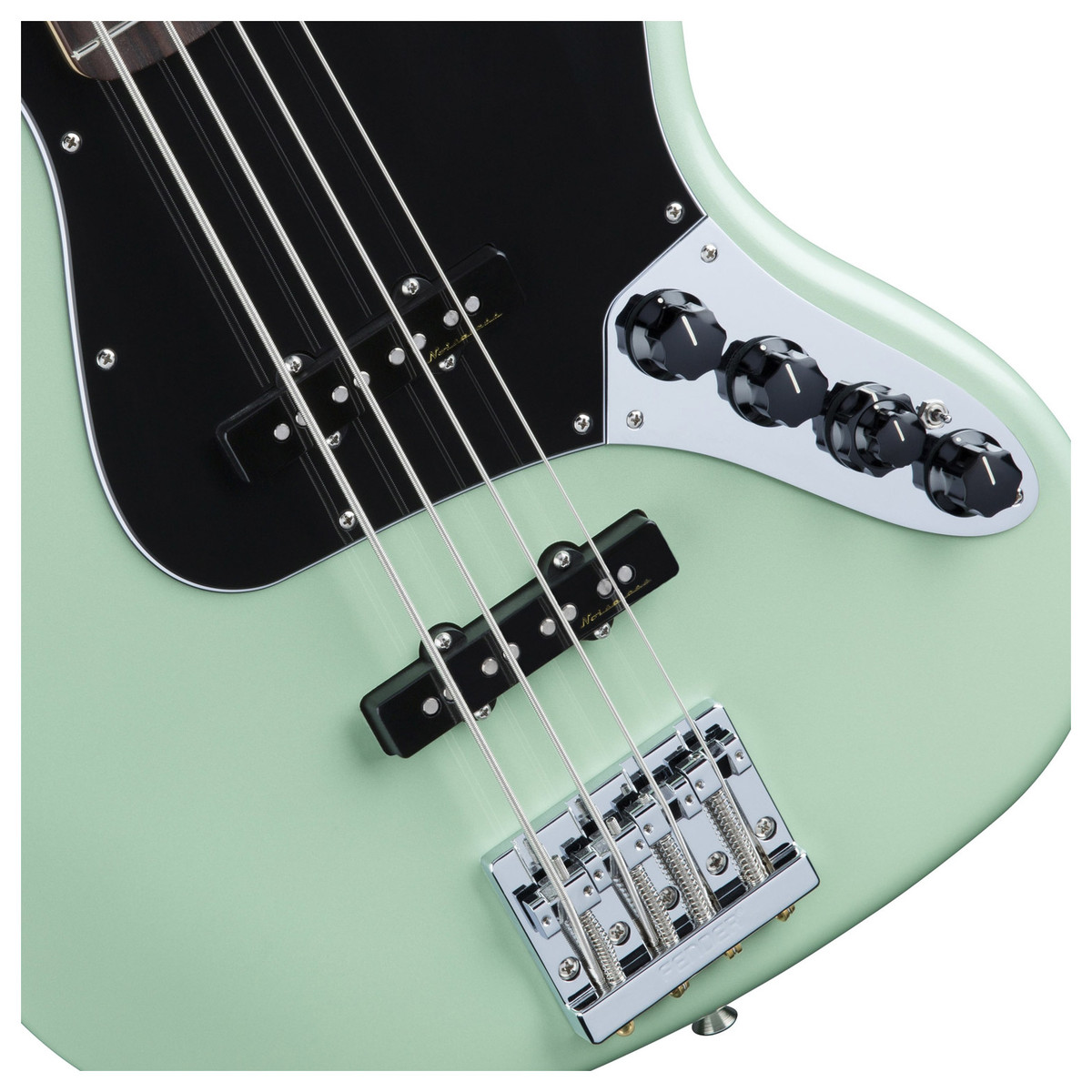 Circuito Jazz Bass Deluxe : Fender deluxe active jazz bass guitar surf pearl at