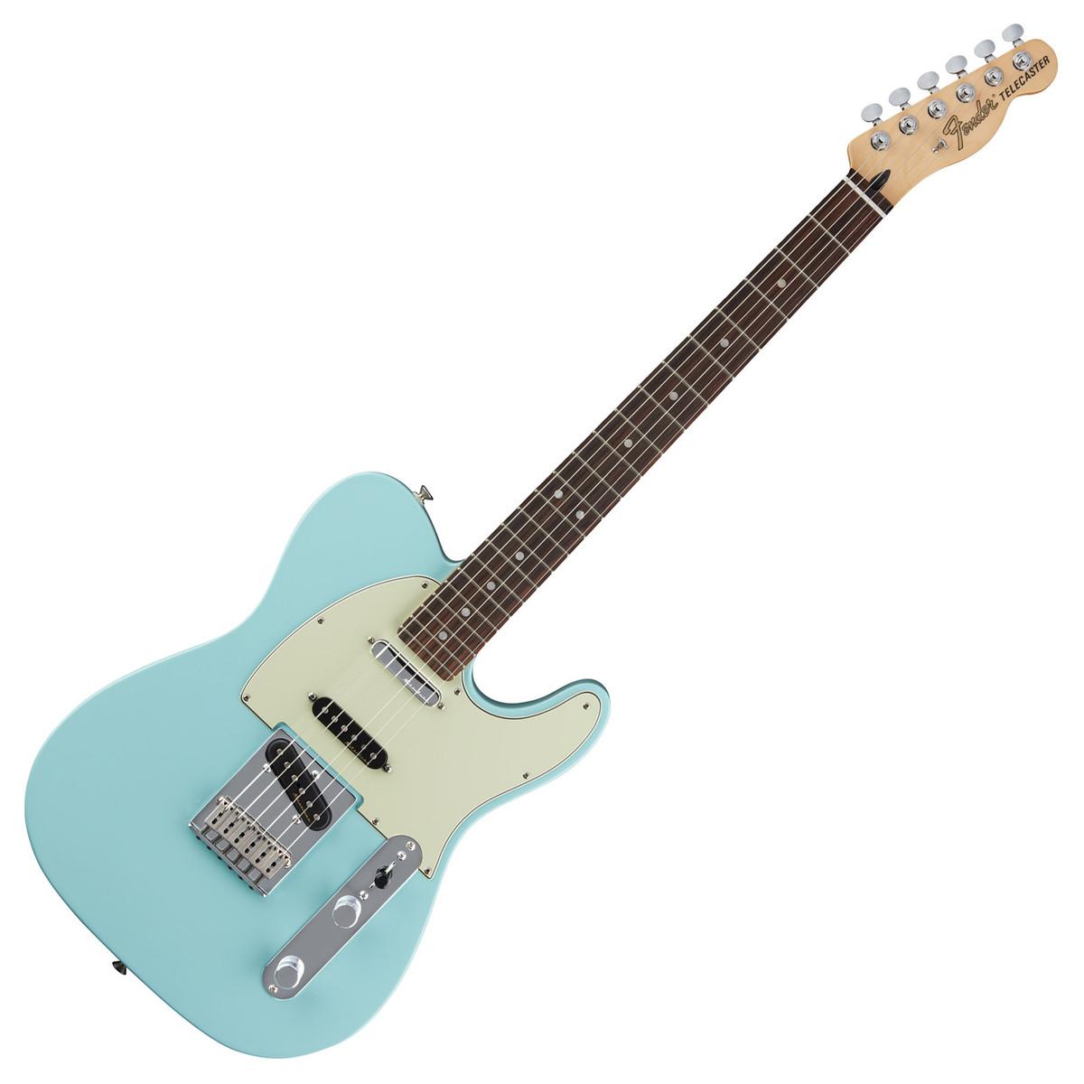 fender deluxe nashville telecaster electric guitar daphne blue at. Black Bedroom Furniture Sets. Home Design Ideas