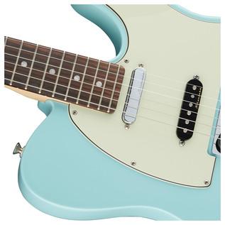 Deluxe Nashville Telecaster Electric Guitar, Daphne Blue