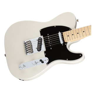 Fender Deluxe Nashville Telecaster Electric Guitar, White
