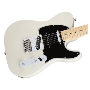 Fender Deluxe Nashville Telecaster Electric Guitar, White