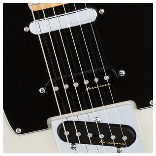 Deluxe Nashville Telecaster Electric Guitar, White Blonde