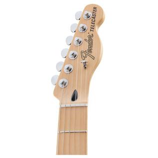 Fender Deluxe Nashville Telecaster Electric Guitar, White Blonde