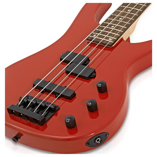 Lexington Bass Guitar by Gear4music, Red