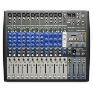 PreSonus StudioLive AR16 USB Mixer - Top View