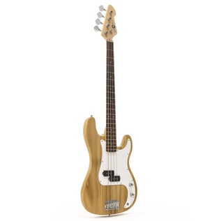 LA Bass Guitar by Gear4music, Natural