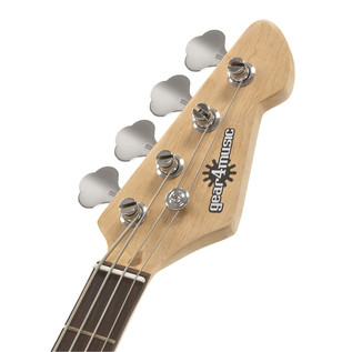 LA Bass Guitar by Gear4music, Natural