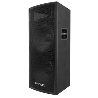 Phonic aSK 215 Dual Passive 2-Way Stage Speaker - Side View