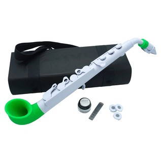Nuvo jSax, White with Green Trim