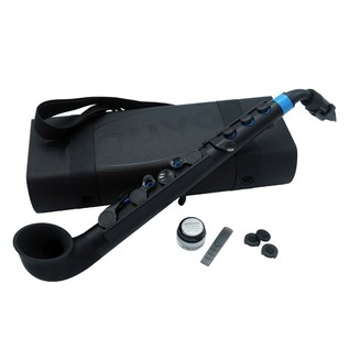 Nuvo jSax, Black with Blue Trim