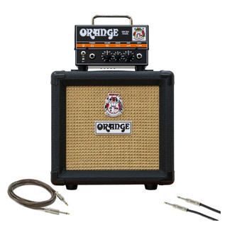 Orange Micro Dark Guitar Amp Pack with Cables