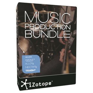 iZotope Music Production Bundle - Boxed