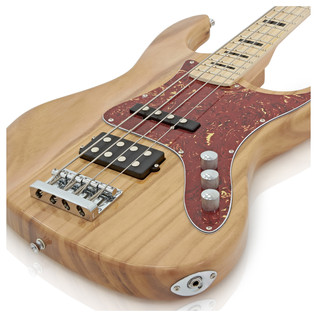 Milwaukee Bass Guitar by Gear4music