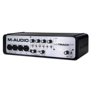 M-Audio M-Track Quad USB Audio Interface
