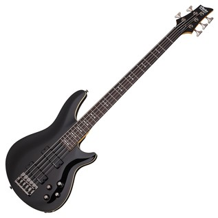 Schecter Omen-5 Bass Guitar, Black