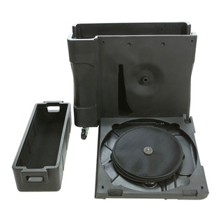 SKB Trap X2 Drum Hardware Case with Built In Cymbal Vault - Front View