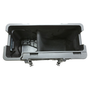 SKB Trap X2 Drum Hardware Case with Built In Cymbal Vault - Top Open