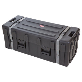 SKB Large Drum Hardware Case with Wheels - Angled Closed