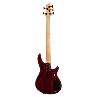 Schecter Omen Extreme-5 Left Handed Bass Guitar, Cherry