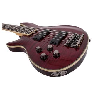 Schecter Omen Extreme-5 Left Handed Bass Guitar