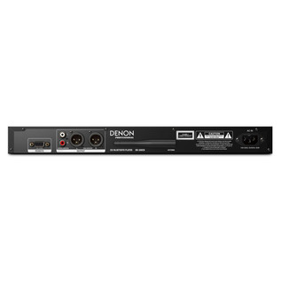 Denon DN-500CB CD Player with Bluetooth and USB - Rear