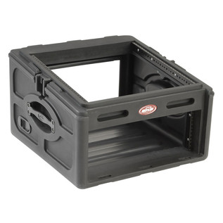 SKB 10x4 Audio and DJ Rack Case - Angled Open
