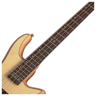 Stiletto Custom-4 Bass Guitar, Natural