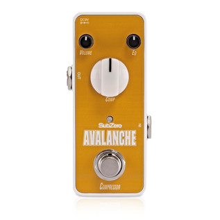 Subzero Avalanche Compressor Micro Guitar Pedal