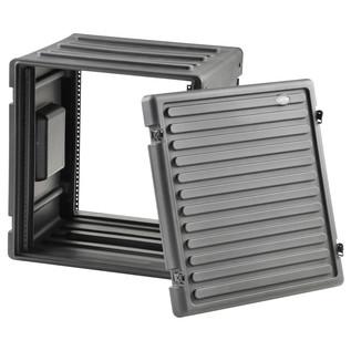 SKB 12U Roto Rack - Angled Open 2