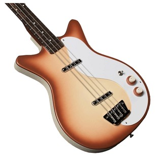 Danelectro 59DC Long Scale Bass, Copper Burst