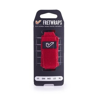 Gruv Gear FretWraps HD Fire Red 1-Pack, Medium