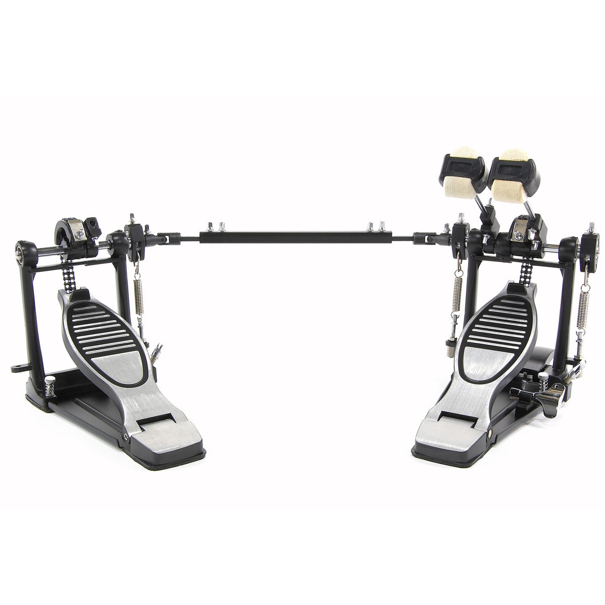 double kick drum pedal with floorplate box opened at. Black Bedroom Furniture Sets. Home Design Ideas