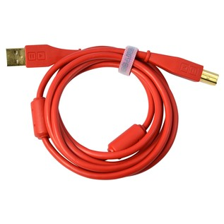 DJ Tech Tools Chroma USB Cable, Red - Cable